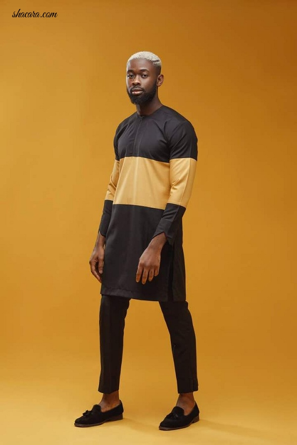 Nigeria's Beats by Sarz stars in Lucky Enemuo Afrika's Holiday Look Book