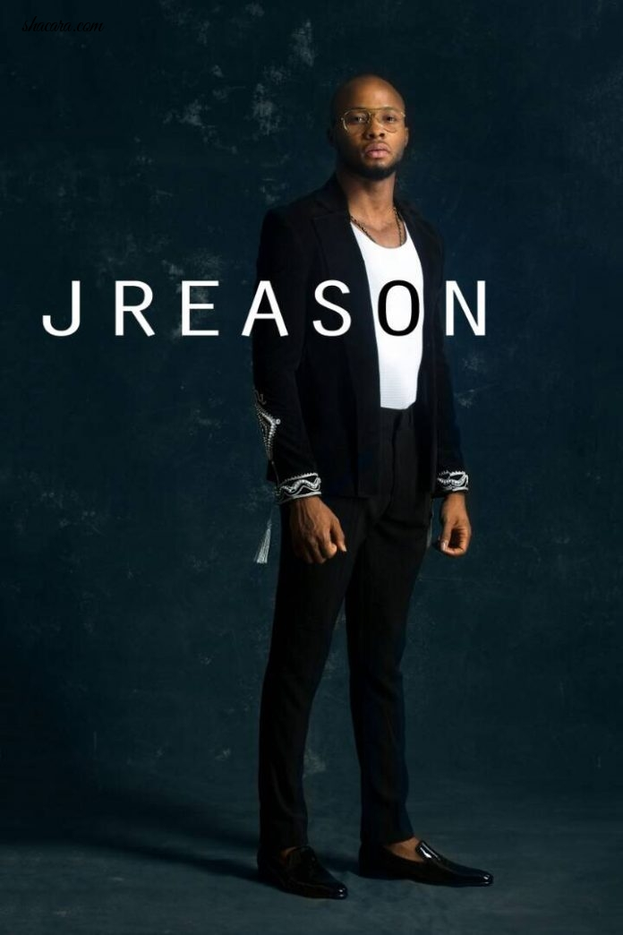 "Nigerian Fashion Brand JReason presents The Look Book For ""Midnight in Lagos"" Collection"