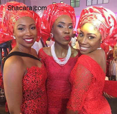 Beautiful wedding and Aso Ebi Styles