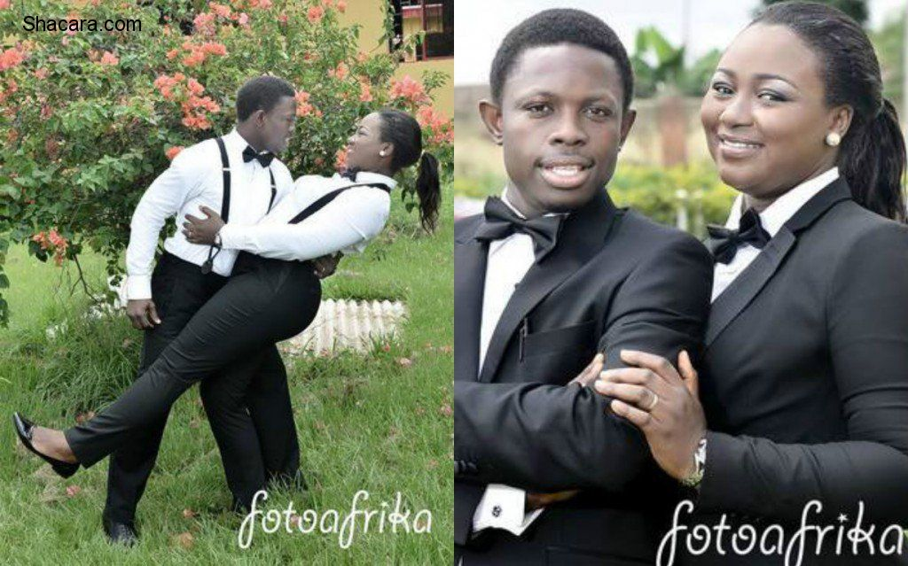 Ifedayo Adu and Pelumi Akinbodewa's wedding photo shoots
