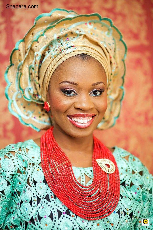 THE GELE EVERY BRIDE NEEDS