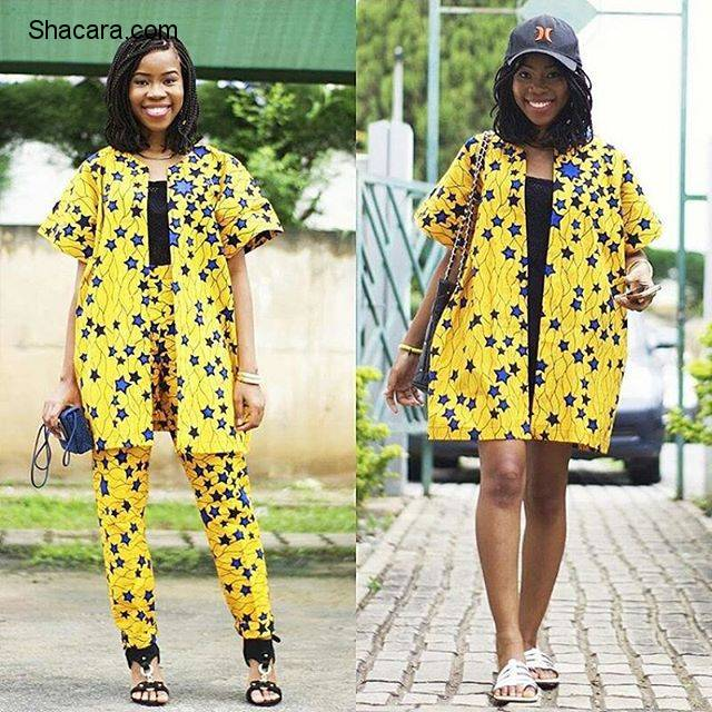 BEGIN YOU FASHIONABLE WEEKEND WITH THESE FAB ANKARA STYLES