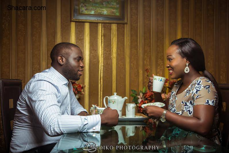 For better, for worse! Bimpe & Wale's playful yet fun e-session