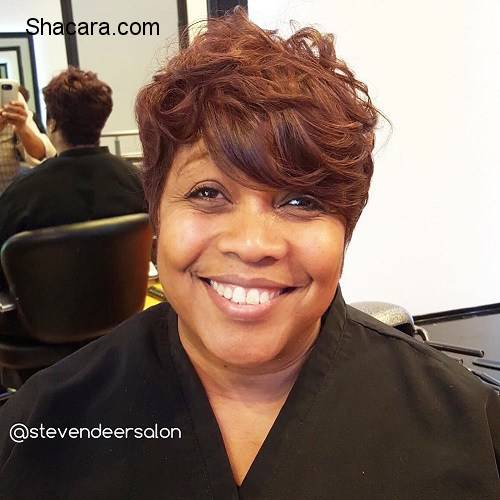 """50 MOST CAPTIVATING AFRICAN AMERICAN SHORT HAIRSTYLES PART 1. """""""