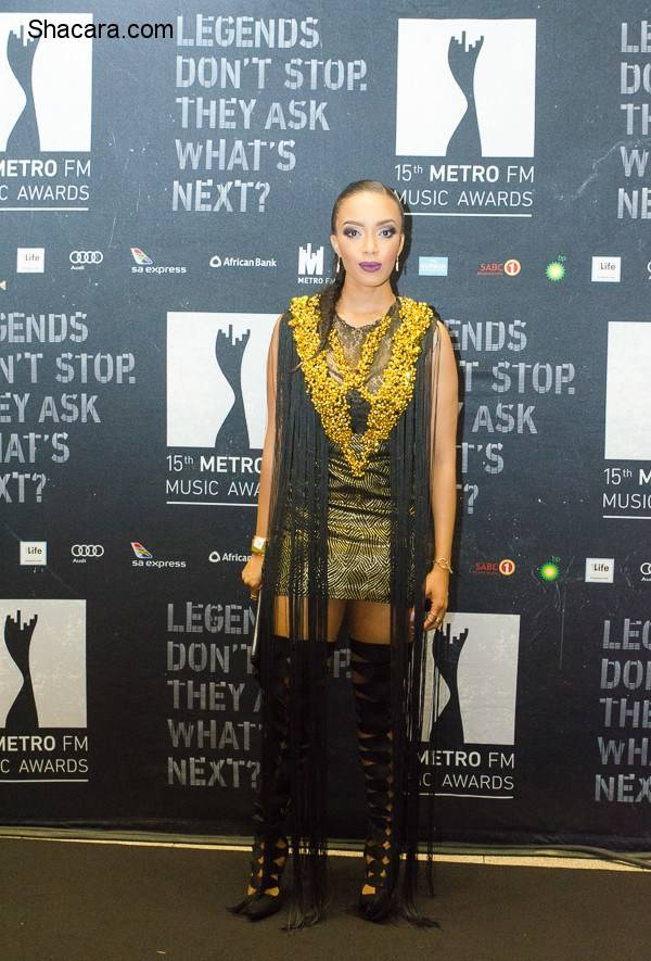WHO WORE WHAT AT THE 15TH ANNUAL METRO FM MUSIC AWARDS STARING BONANG MATHEBA, BOITY THULO, PEARL THUSI, REFILOE MPAKANYANE & LOTS MORE SOUTH AFRICAN STARS