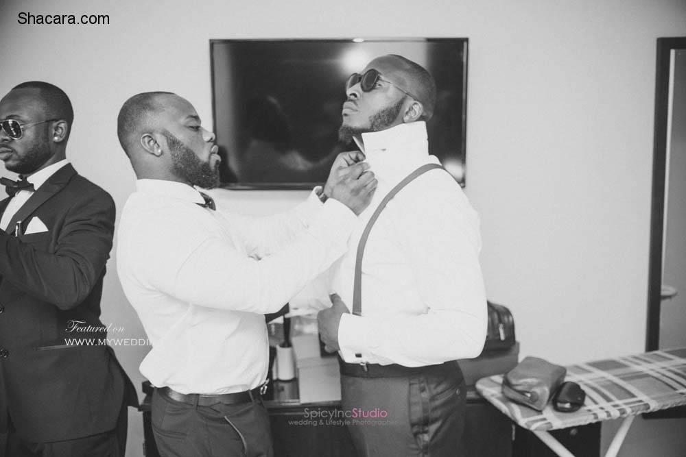 STAR STUDDED WEDDING OF OYINDAMOLA AND KAREEM BY SPICY INC STUDIO