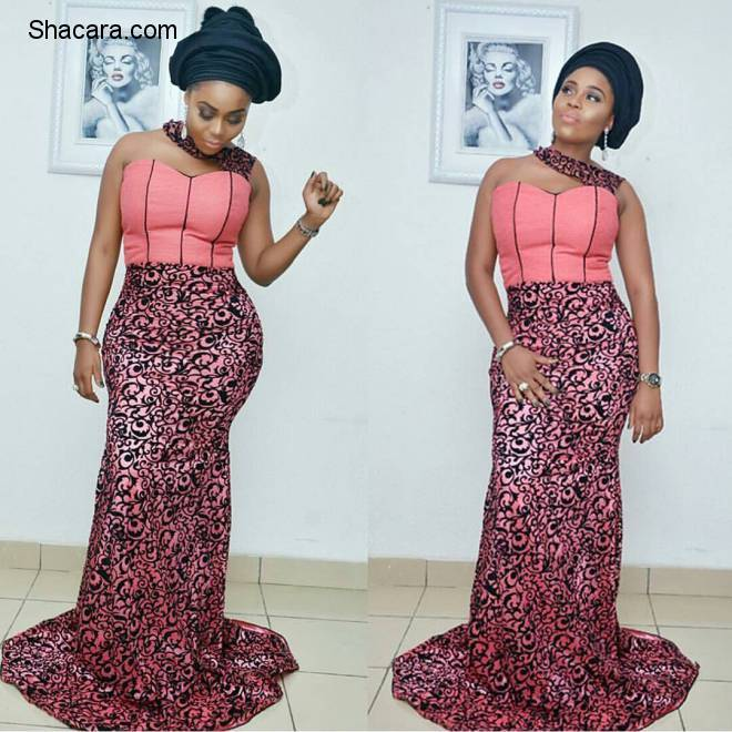 TRENDING ASO EBI STYLES AS SLAYED BY STUNNING FASHIONISTAS