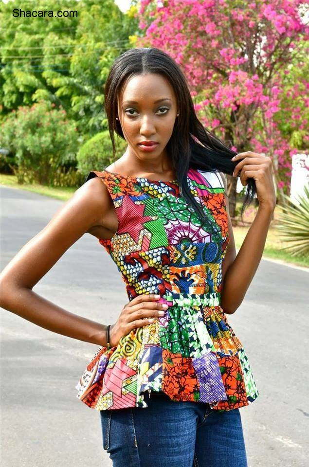 THE ANKARA PEPLUM TOP STYLES – A SUPER-STYLISH TIMELESS PIECES