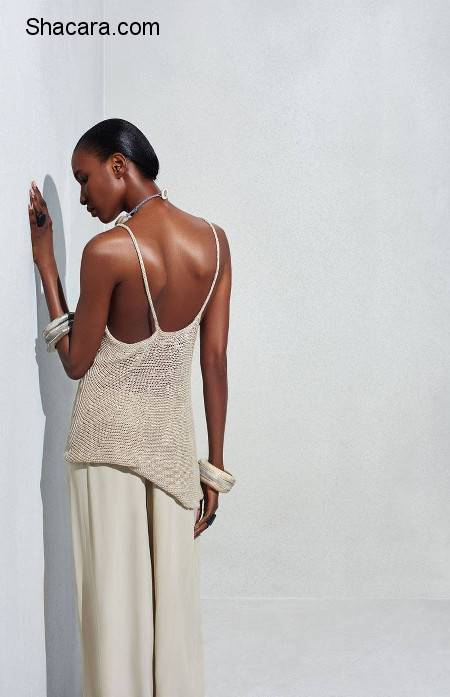 Nana Keita features in the Harmony Collection from Urban Zen by Donna Karan