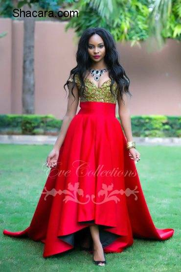 "Eve Collections latest Collection ""In Love With Red""."