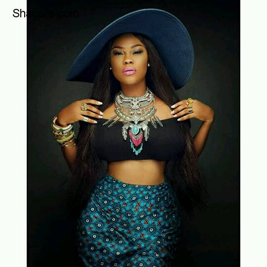 Curvy Actress, Daniella Okeke, Marks Birthday With Dazzling Photos