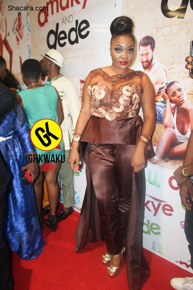 "Red Carpet: See Ahuofe Patri, Kalybos, Moesha, Majid Michel And Others @ The ""Amakye and Dede"" Premiere"