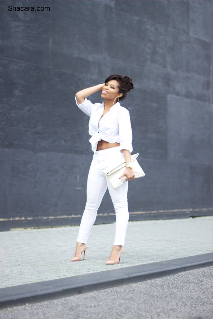 1 WHITE SHIRT AND 8 WAYS YOU CAN STYLE IT