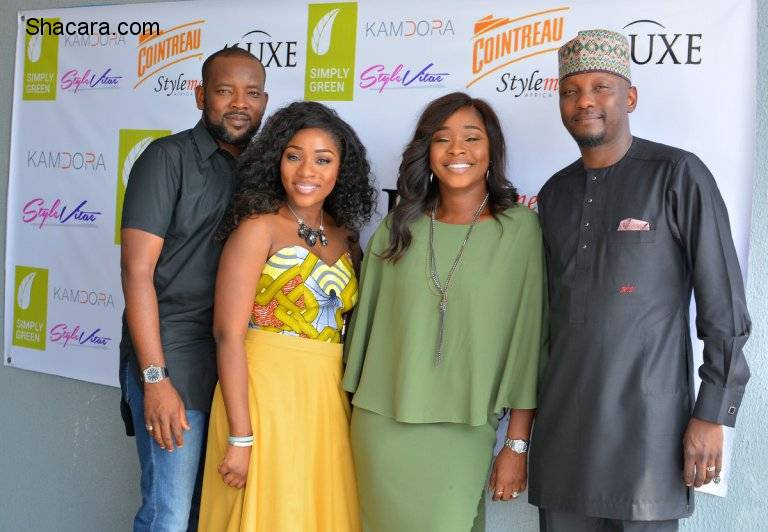 NIGERIAN CELEBRITY FASHIONISTAS: WANA SAMBO, MAI ATAFO & MORE STORMS THE LAGOS OPENING OF 41 LUXE (PICS)