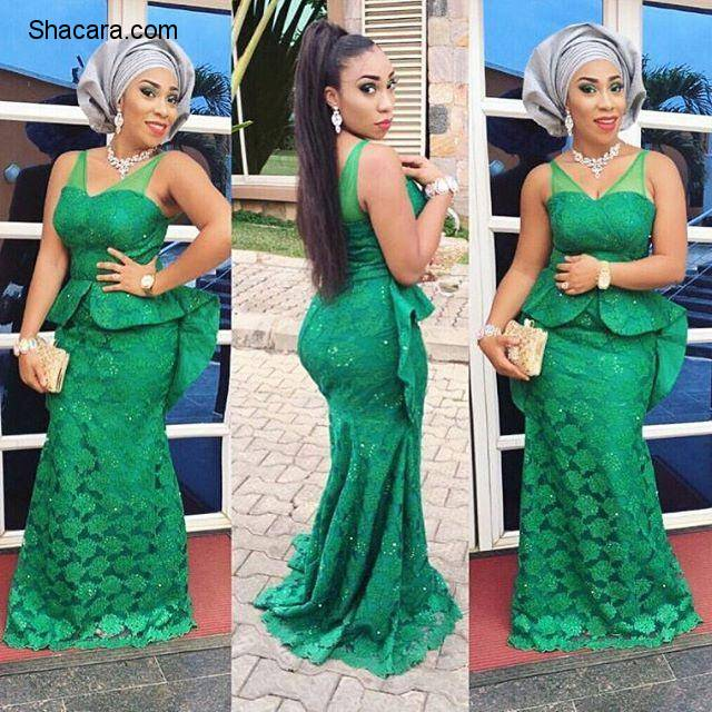 Elegant And Fabulous Aso Ebi Styles For The Trendy Ladies
