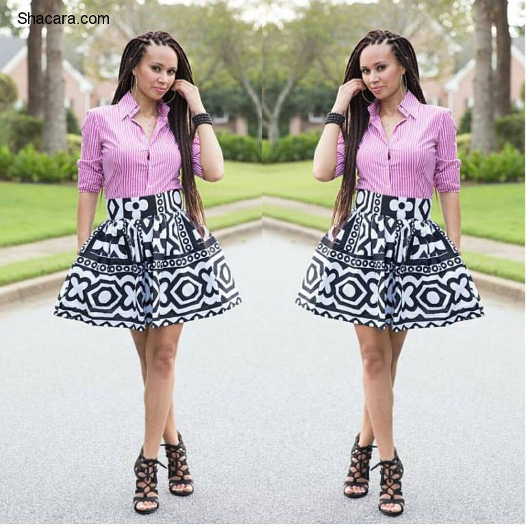 LATEST ANKARA STYLES YOU DON'T WANT TO MISS