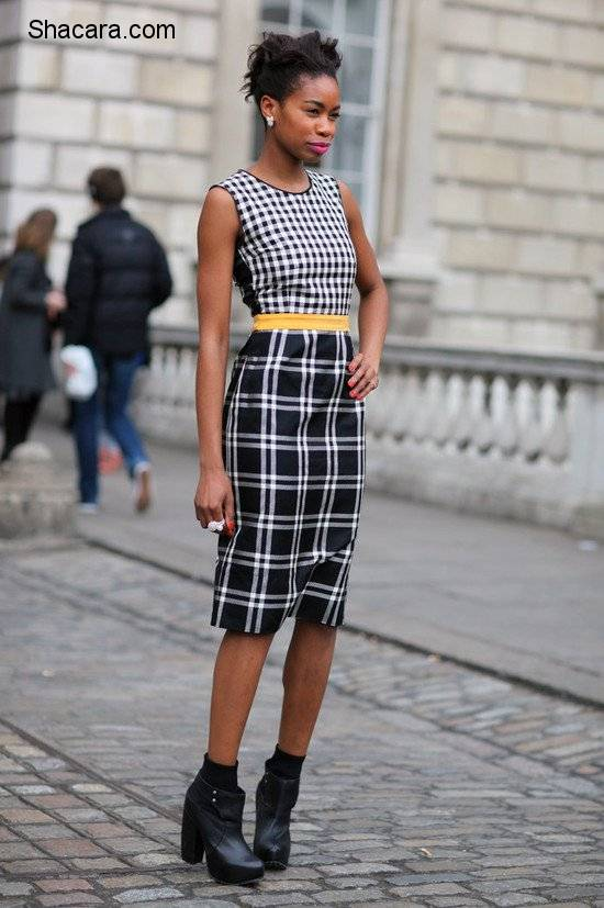 THE CHECKERED SKIRT YOU NEED TO CHECK OUT
