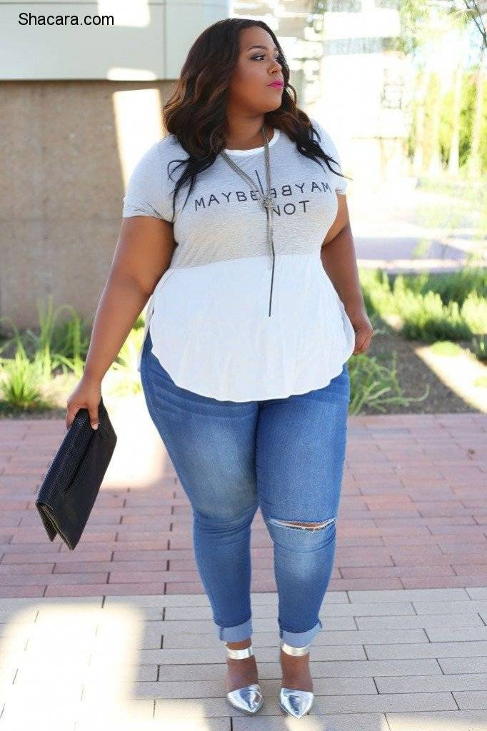 As a plus-size fashionista, I'm sure you'd definitely love to try out every lovely, trendy and comfy outfit that comes your way. Every fashionista just loves to stand out, especially in public. How would you feel when som