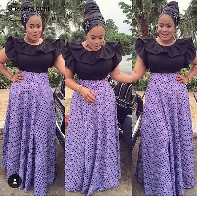 A-LIST ANKARA STYLES MAKING TRENDS IN FASHION