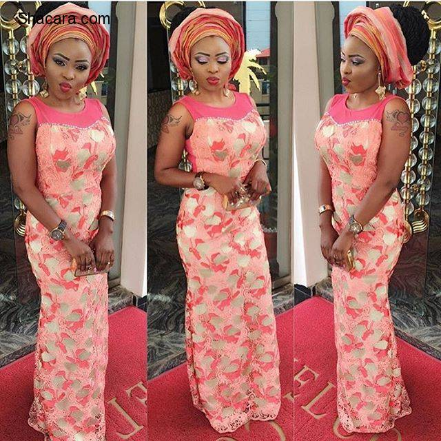 MAKE IT GLAMOROUS TO YOUR NEXT OWANBE PARTY IN ONE OF THIS ASO EBI STYLES