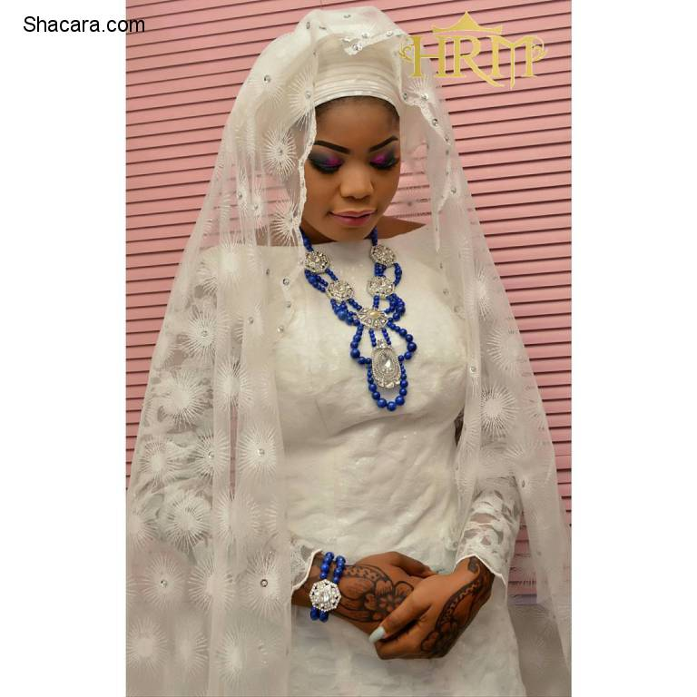 MUSLIM BRIDES IN THEIR ENCHANTING NIKKA ATTIRE