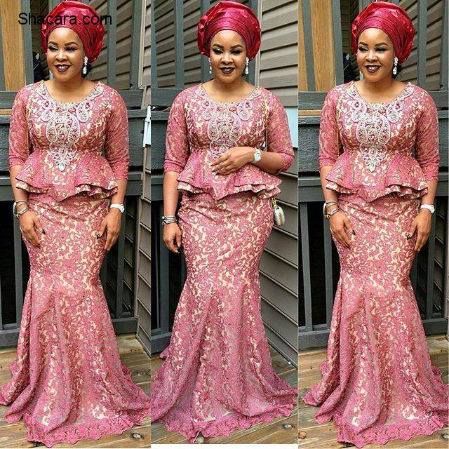 ASO EBI STYLES THAT CREATED A BUZZ AT NIGERIAN PARTIES LAST WEEKEND
