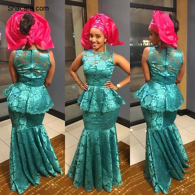 SEQUIN, CHANTILLY LACE, ORGANZA AND MORE ASO EBI STYLE TRENDS FROM LAST WEEKEND
