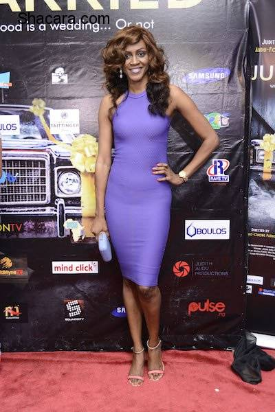 "RED CARPET PHOTO'S FROM ""JUST NOT MARRIED"" MOVIE PREMIER"