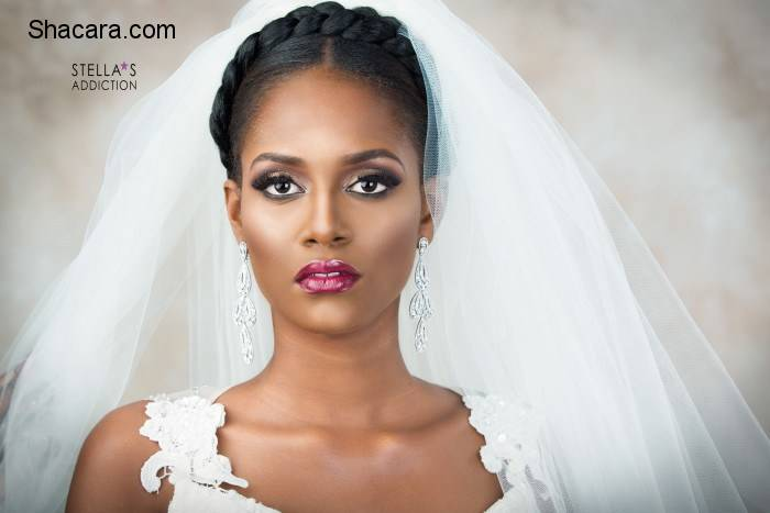 STUNNING AND CLASSIC BRIDAL LOOKS BY STELLA'S ADDICTION