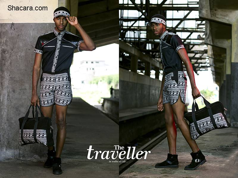 "Ghana's Nipo Skin Presents Thier Mens Ready-To-Wear Line Named The ""Traveller"""