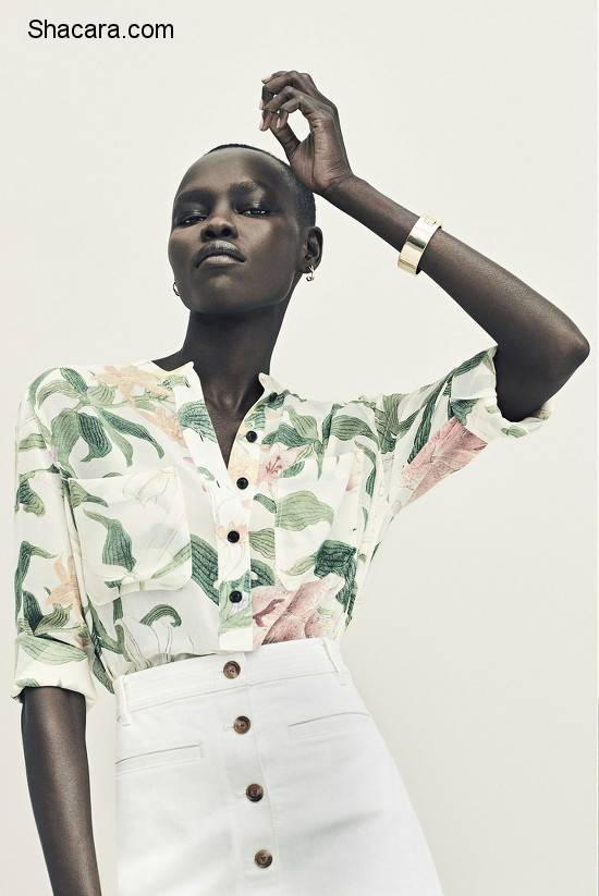 Grace Bol for Ann Taylor's 2016 Ad Campaign