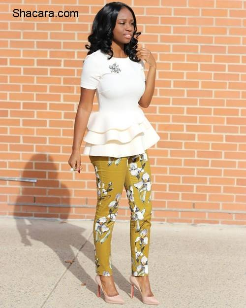 Sunday Style – Pants For Church