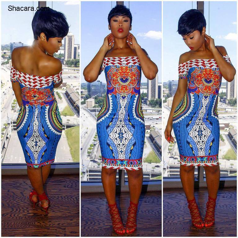 NOW HERE IS HOW TO MAKE A STATEMENT IN ANKARA FASHION!