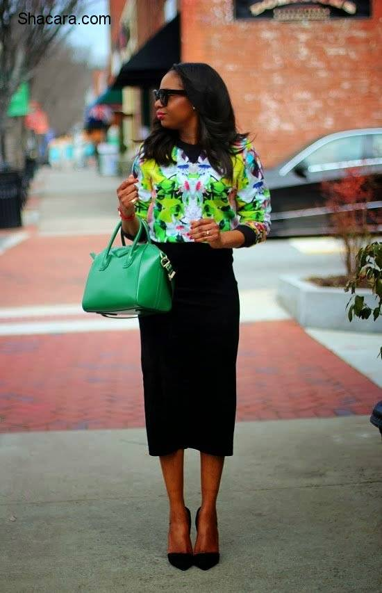 THE NON-BASIC PENCIL SKIRT IDEAS FOR CONFIDENCE AT WORK