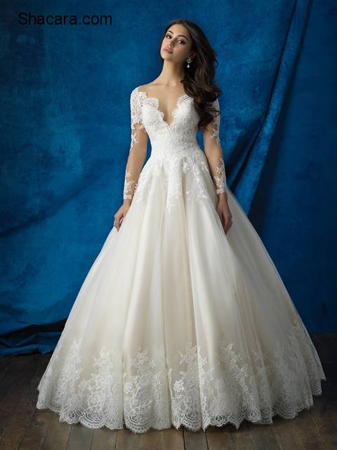 Allure Bridals' Fall 2016 Collection Is Dreamy & Versatile