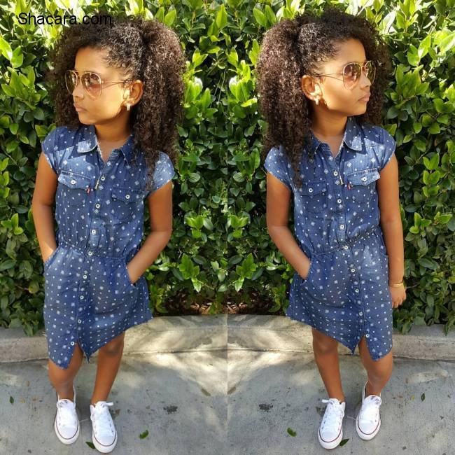 6 Year Old Style Girl Slaying It On Instagram With Over 125,000 Followers, Meet Haileigh