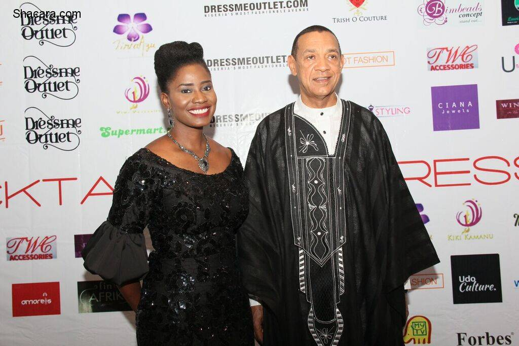 Dressmeoutlet.com Launches With 'Cocktails & Dresses' Exhibition! Sen. Ben Murray-Bruce, Hon. Lola Akande, Kate Henshaw, More!