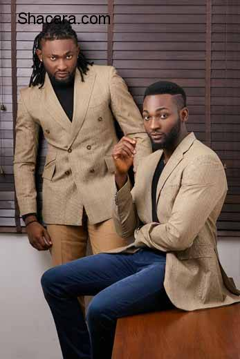 Uti Nwachukwu & Gbenro Ajibade Front Caesar Couture's SS 16 Campaign | See Lookbook Photos