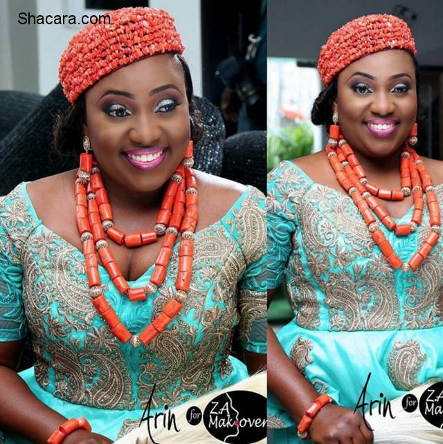 Igbo Kwenu! All Hail These 11 Gorgeous Igbo Brides Serving Style