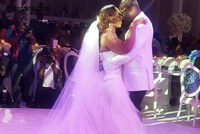 SEE HIGHLIGHTS OF THE FLOWERY WEDDING BLISS OF COCO AND CALEB