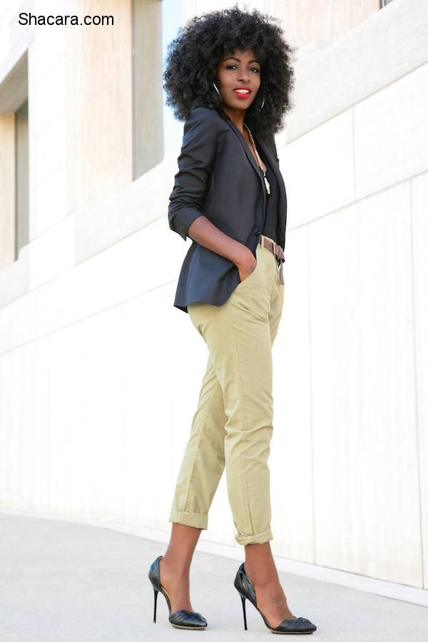 FOLAKE KUYE (STYLEPANTRY) LOOKS EFFORTLESSLY CHIC WITH BLAZERS