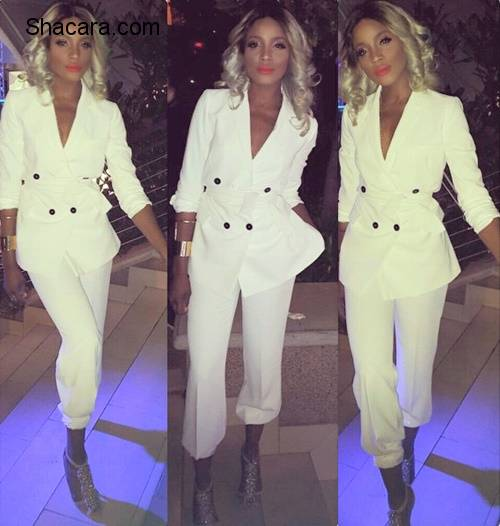 Seyi Shay's Best Looks In Pantsuits