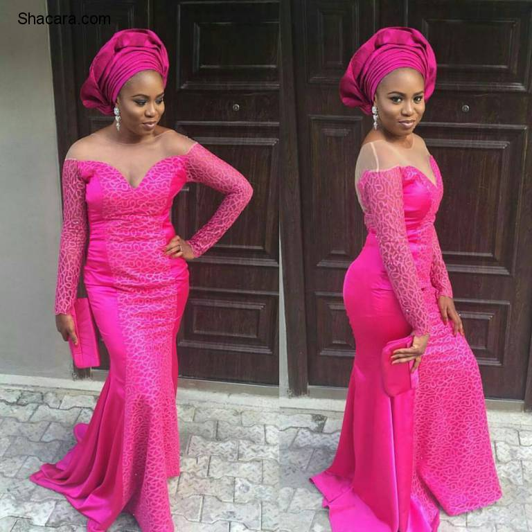 GORGEOUS LATEST ASO EBI STYLES YOU MISSED THIS WEEKEND