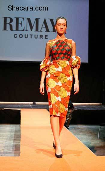 Nigerian Fashion Label 'Remay Couture' Showcases Its Latest Collection At TheGävleMoterAfrika In Sweden!