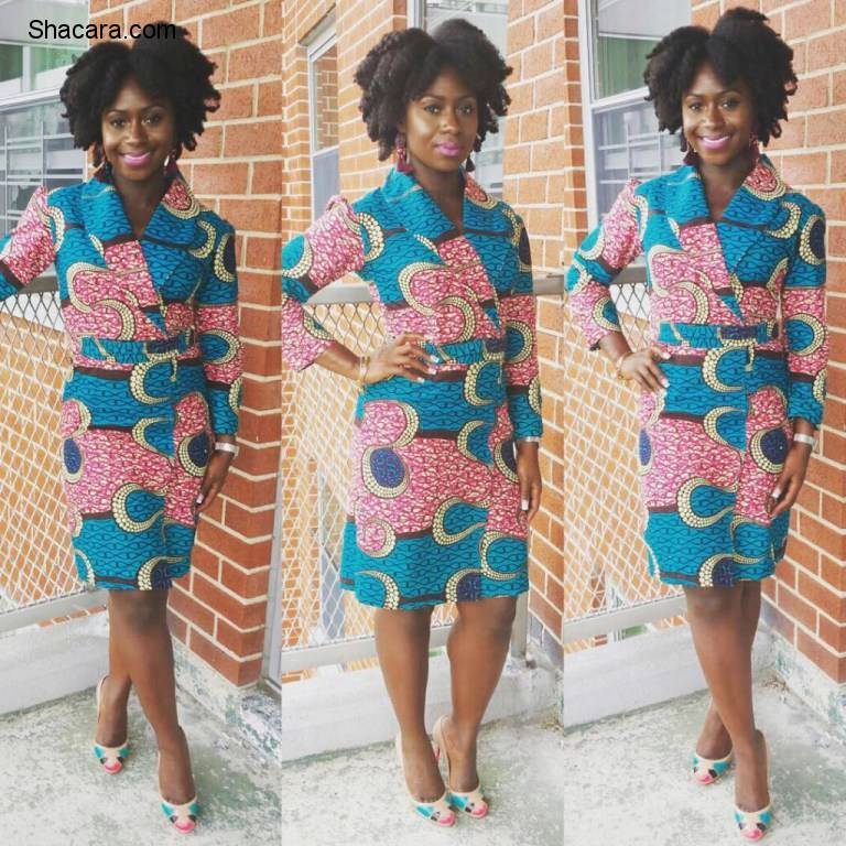 ANKARA BLAZERS ARE CHIC, CUTE, SEXY AND FABULOUSLY STUNNING