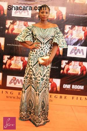 Rita Dominic, Ramsey Nouah, Stephanie Linus, More At The Premiere Of Blessing Egbe's 'One Room'