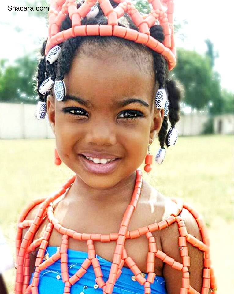 Cutest Babies Dressed In African Fashion & Going Viral