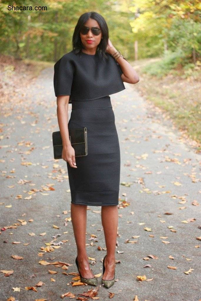 THE WAYS TO MAKE AN ALL-BLACK OUTFIT FEEL FRESH THIS SEASON