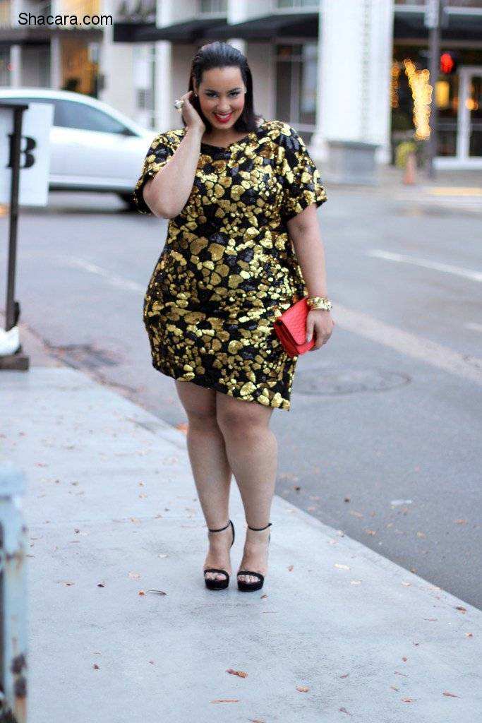 6 PLUS-SIZE SEQUIN OUTFITS YOU'LL LOVE