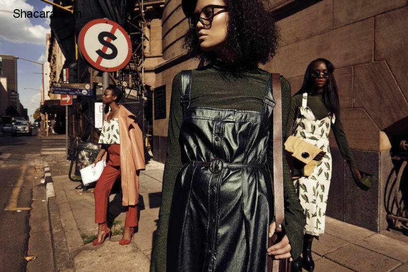 Check Out These Chic Campaign Images For Thebe Magugu AW16 Collection – South Africa